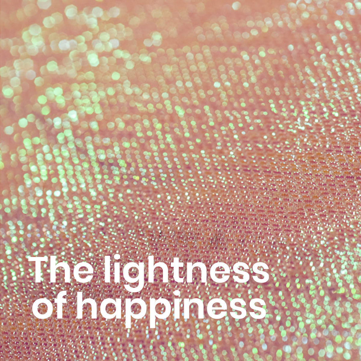 The lightness of happiness